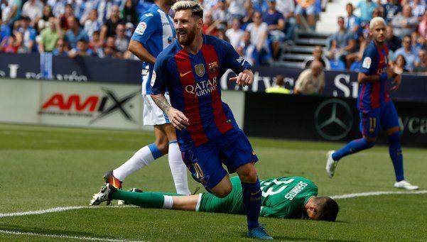 Barcelona se recuperó en la Liga con una goleada al Leganés