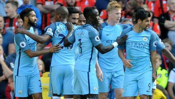 El City de Guardiola goleó y mantuvo el puntaje ideal en la Premier