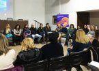 Reunión sobre violencia de género en San Martín