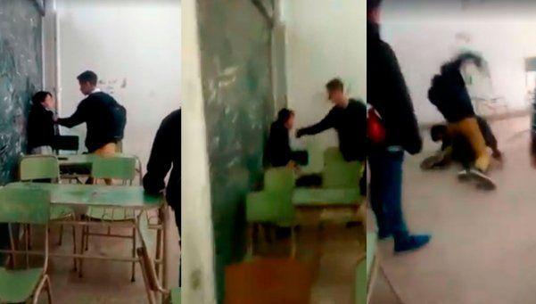 Bullying en Zárate: lo filmaron mientras era golpeado en el piso
