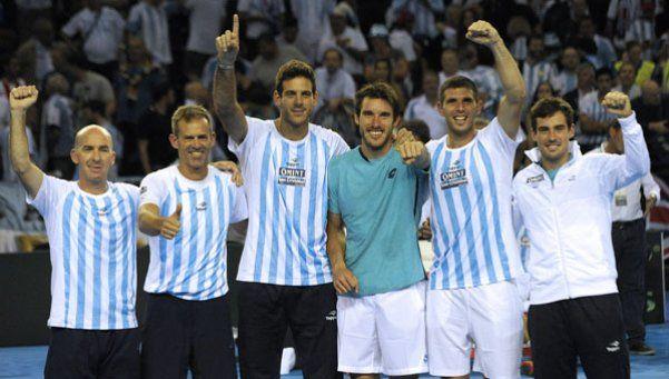 Argentina derrotó a Gran Bretaña por la semifinal de la Copa Davis