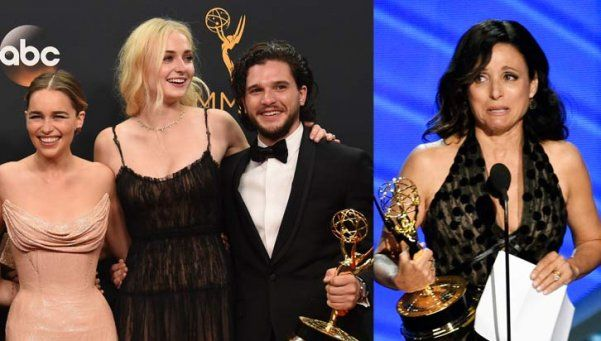 """Game of Thrones"" y Julia Dreyfus marcaron récords en los Emmys"