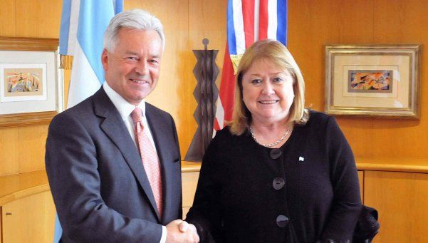 ¿Argentina y Reino Unido juntos en la Antártida?