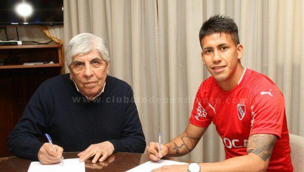 Meza firmó con el Diablo por cuatro años