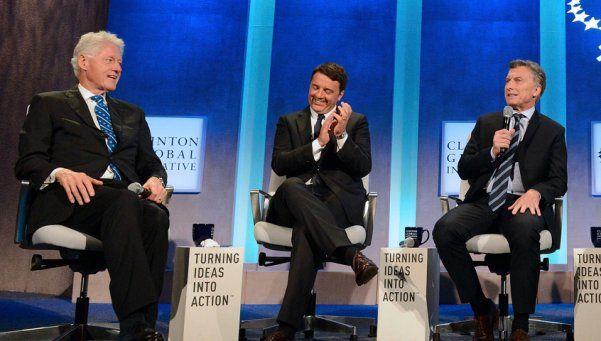 Macri se reunió con Clinton y convocó a invertir en Argentina
