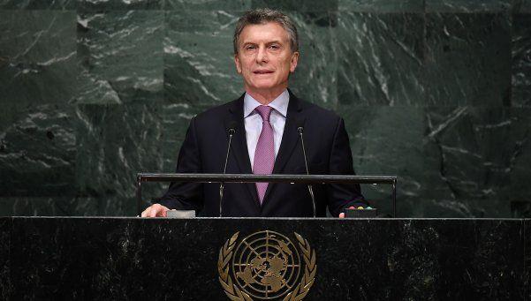 Para Macri, el país está saliendo de la recesión