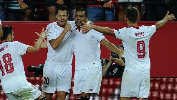 El Sevilla de Sampaoli ganó el clásico con gol de Mercado