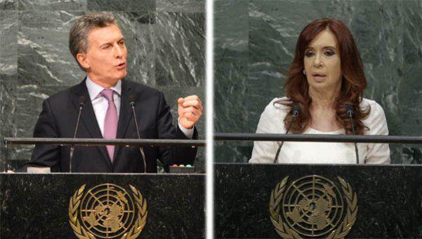 Video | Mirá qué distintos somos: los discursos de Macri y Cristina en la ONU