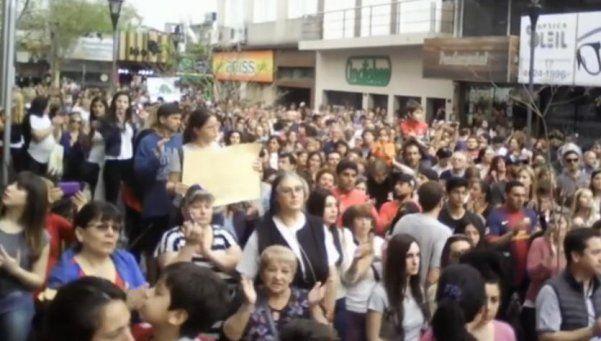 Multitudinario reclamo por seguridad en Ituzaingó