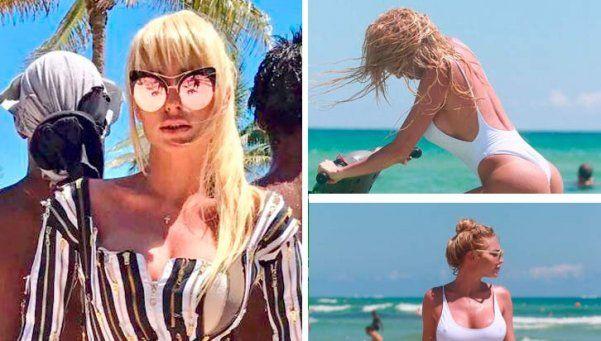Las fotos hot de Vicky Xipolitakis en Miami, furor en Europa