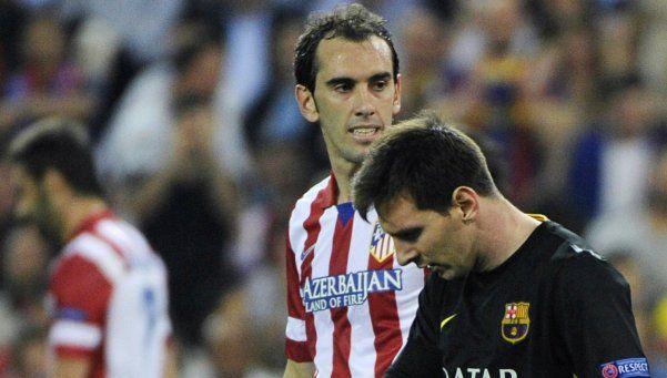 Barcelona igualó con el Atlético del Cholo