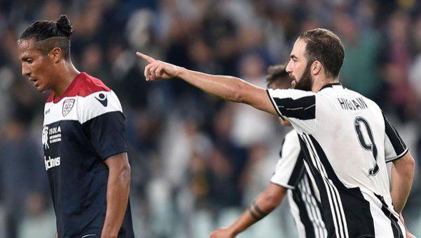 Higuaín sigue de racha y Juventus volvió a golear
