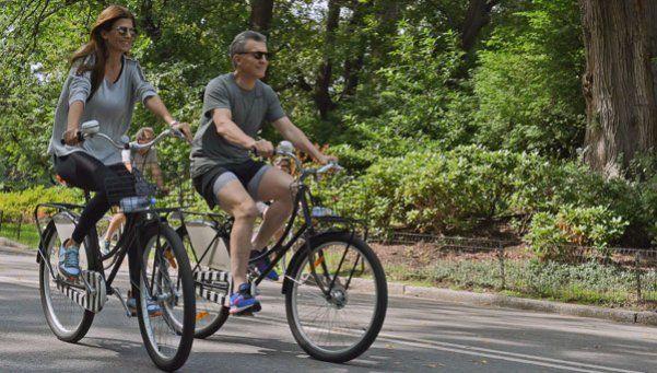 Fotos | Macri y Awada, de paseo en bicicleta por el Central Park