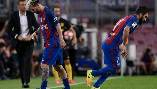 Alerta en la Selección: Messi se lesionó y estará tres semanas afuera