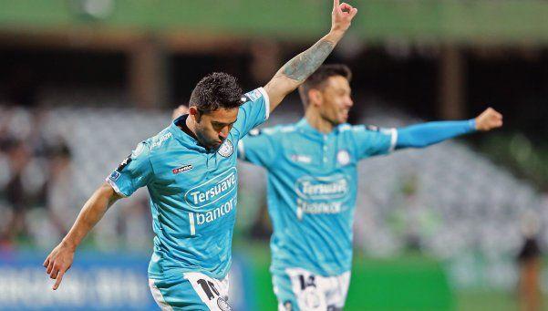 Sudamericana: Belgrano jugó de manera inteligente y le ganó a Coritiba