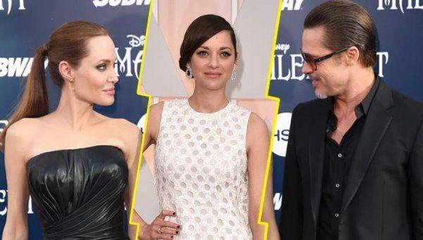 Marion Cotillard negó ser la causante del divorcio de Jolie y Pitt