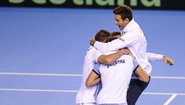 De local, Argentina jugará ante Italia en la Davis 2017