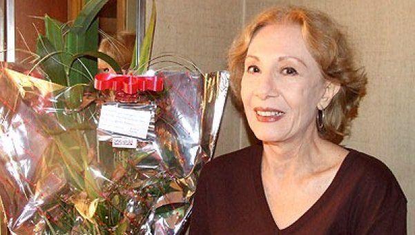 Murió la actriz Lucrecia Capello