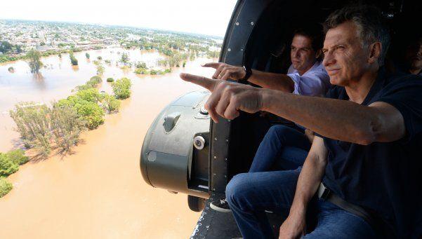Alarma por un mal aterrizaje en el helicóptero que llevaba a Macri
