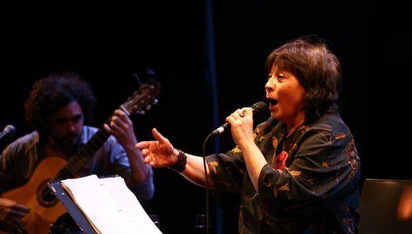 Show de Liliana Herrero y Pedro Rossi en el Rigolleau