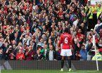 El United salió de la mala racha con una goleada ante Leicester