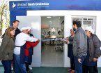 Katopodis inauguró la primera Unidad Gastronómica de San Martín