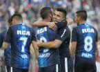 Racing goleó y hundió a Vélez en el Amalfitani