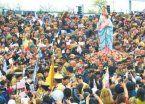 Masiva peregrinación por la Virgen del Rosario