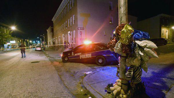 Nuevo tiroteo en Baltimore: ocho heridos