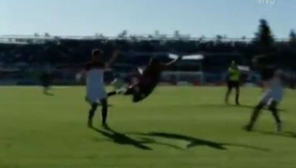 ¿Qué cobró? La increíble actuación que terminó en penal contra San Lorenzo