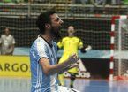 Argentina goleó a Egipto y se metió en semifinales del Mundial de Futsal