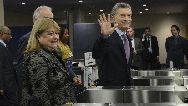 Macri: Despertamos un enorme entusiasmo en el mundo