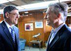 Macri recibió al secretario del Tesoro de los EEUU