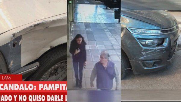 Video   Un hombre dice que Pampita lo chocó ¡y ella explotó!