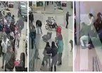 Video | Así fue el sangriento tiroteo en la puerta de un banco