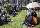 Movilización y acampe en Plaza de Mayo contra el tarifazo
