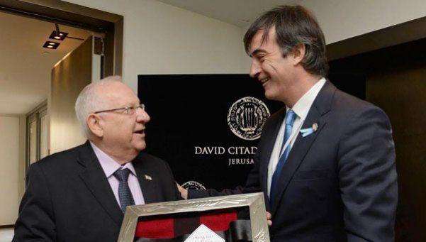 Educación: Esteban Bullrich se reunió con el presidente de Israel