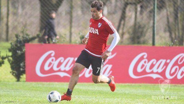 Mora volvió a entrenar con normalidad y convirtió tres goles