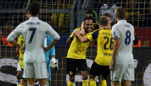 Video   Dortmund le borró la sonrisa a Real Madrid sobre el final