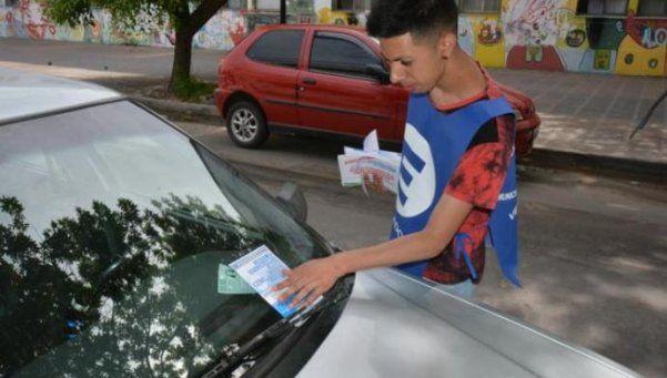 Nuevo  estacionamiento medido en Ituzaingó