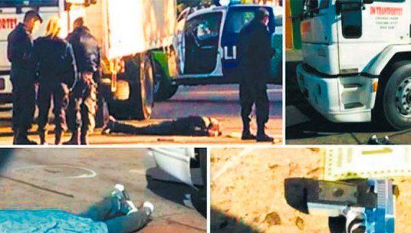 Camionero ex policía mató a ladrón que intentó robarle