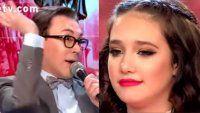 La mala noche de Polino: casi hace llorar a Ángela Torres