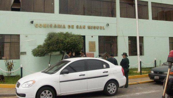 Se fugaron cinco presos de una comisaría de San Miguel