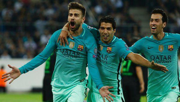 Barcelona se recuperó y obtuvo una victoria clave en Alemania