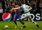 Lluvia de goles en el empate entre Celtic y Manchester City