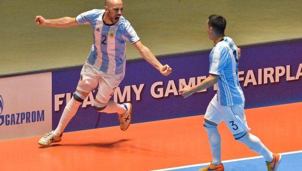 Futsal histórico: Argentina venció a Portugal y es finalista del Mundial