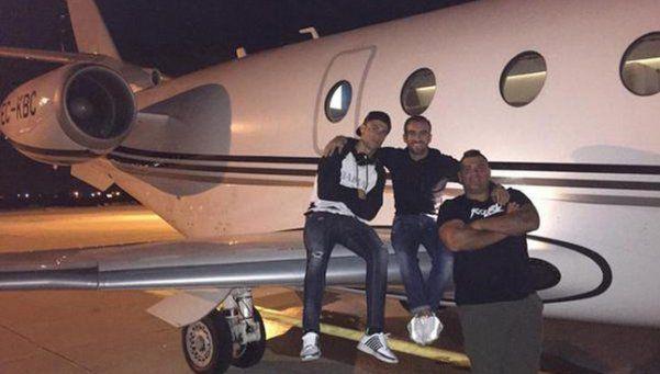 El avión de Cristiano Ronaldo sufrió un accidente en Barcelona