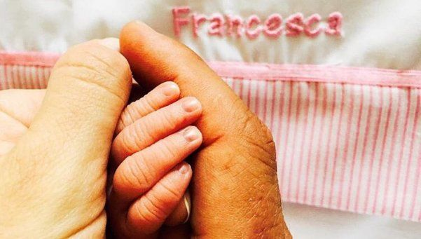 La emotiva bienvenida del Cholo Simeone a su hija Francesca