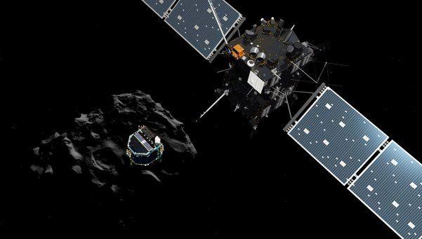 Rosetta, la sonda que se estrelló después de 12 años en el espacio