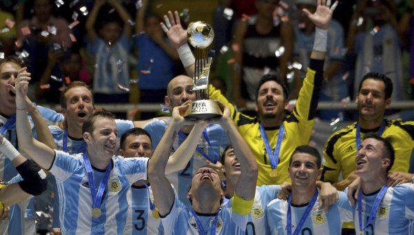 Todos al Obelisco: Argentina campeón del mundo en Futsal